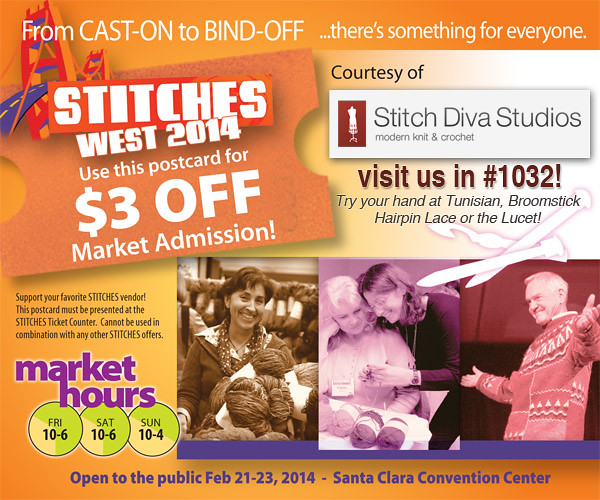Stitches West Coupon