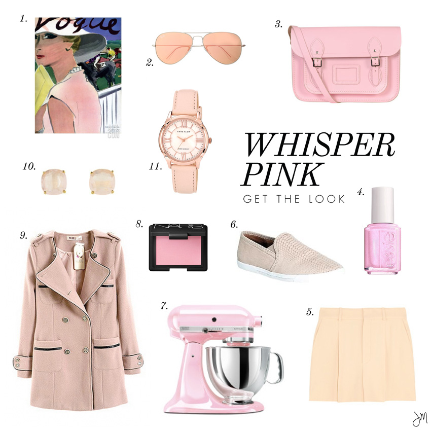 Julip Made color craving whisper pink get the look