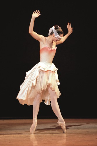 Darcey Bussell in action.