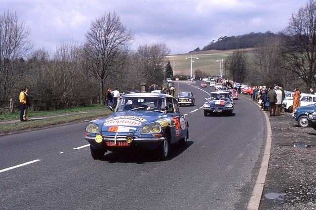 London to Mexico World Cup Rally 1970