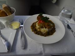 Qatar Airways Vegitarian Jalfrezi