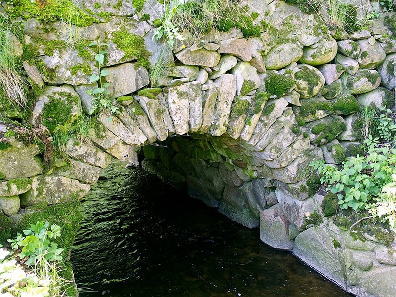 Oldest stone bridge (1759) in Skåne