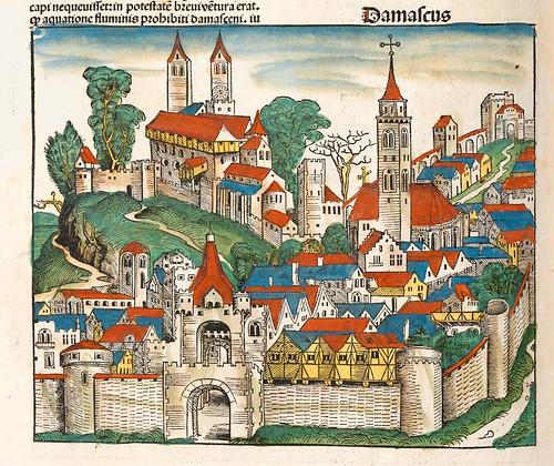001-Damasco-Liber Chronicarum-1493-Biblioteca Estatal de Baviera