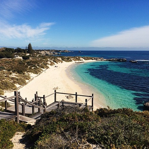 Rottnest Island. Not bad, if you like it perfect.