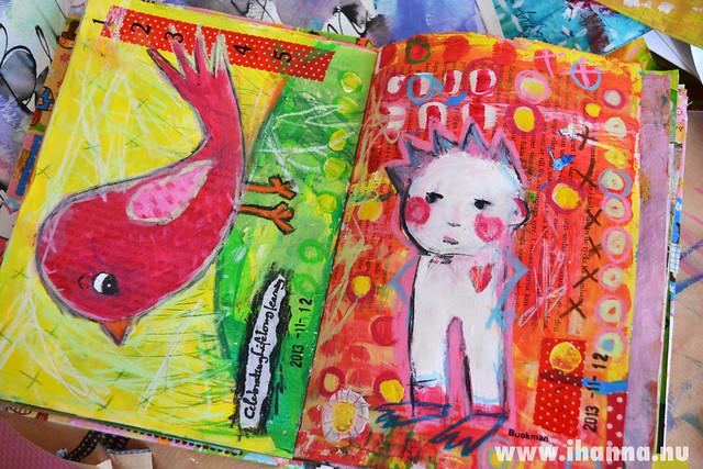 Art Journal Peek: Celebrating