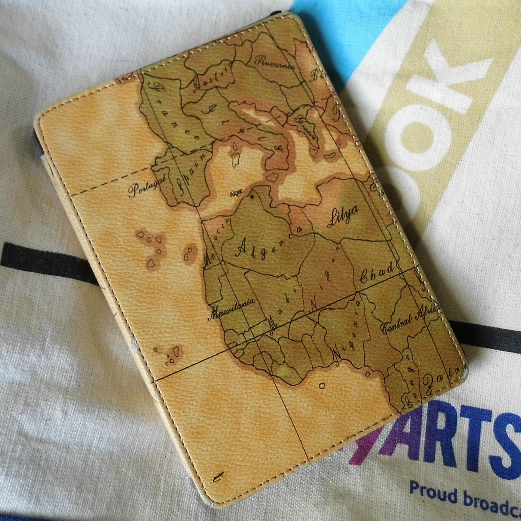 Vintage style map Kindle Paperwhite cover