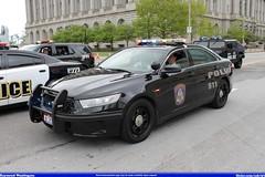 Cuyahoga Heights Ohio Police Ford Taurus