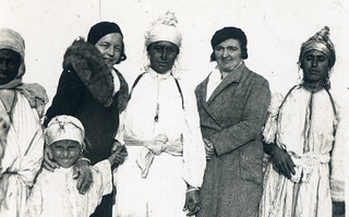Maroc, années 1930 en hiver