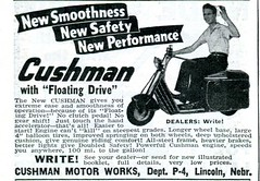 1941 Cushman Motor Works Advertisement Popular Mechanics April 1941