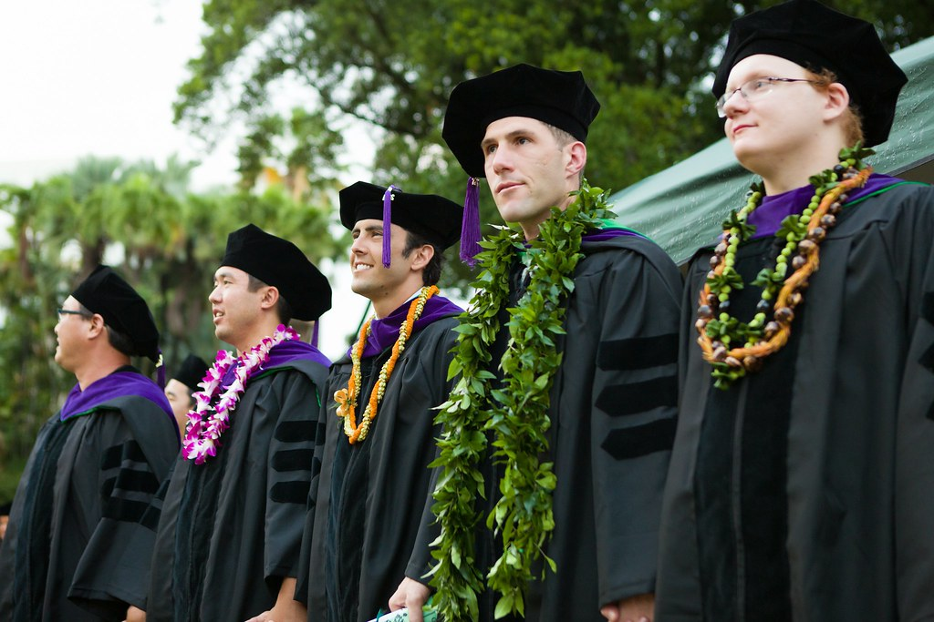 "<p>William S. Richardson School of Law graduates singing Hawaiʻi Aloha. The ceremony was held at the University of Hawaii at Manoa's Andrews Amphitheater on May 18, 2014. For more photos go to <a href=""https://www.law.hawaii.edu/photos/law-school-graduation-ceremony-may-2014"" rel=""nofollow"">www.law.hawaii.edu/photos/law-school-graduation-ceremony-...</a></p>"