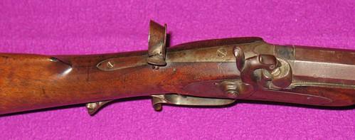 F. EBNER -  Percussion Schuetzen Rifle - Made In Burlington, Iowa