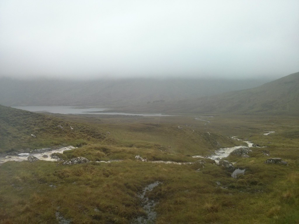 End of Loch Fannaich