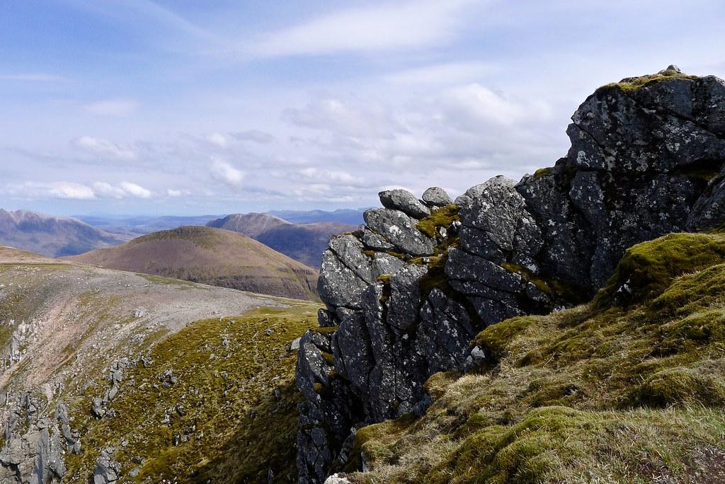 Summit of A' Mhaighdean