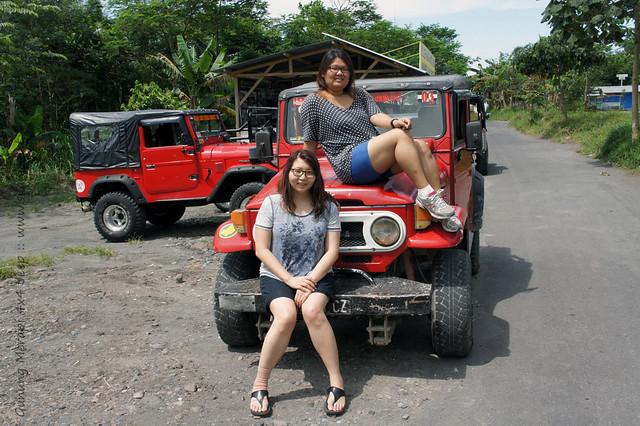 Yogyakarta - Gunung Merapi 4x4 Jeep tour - Suanie and Joyce