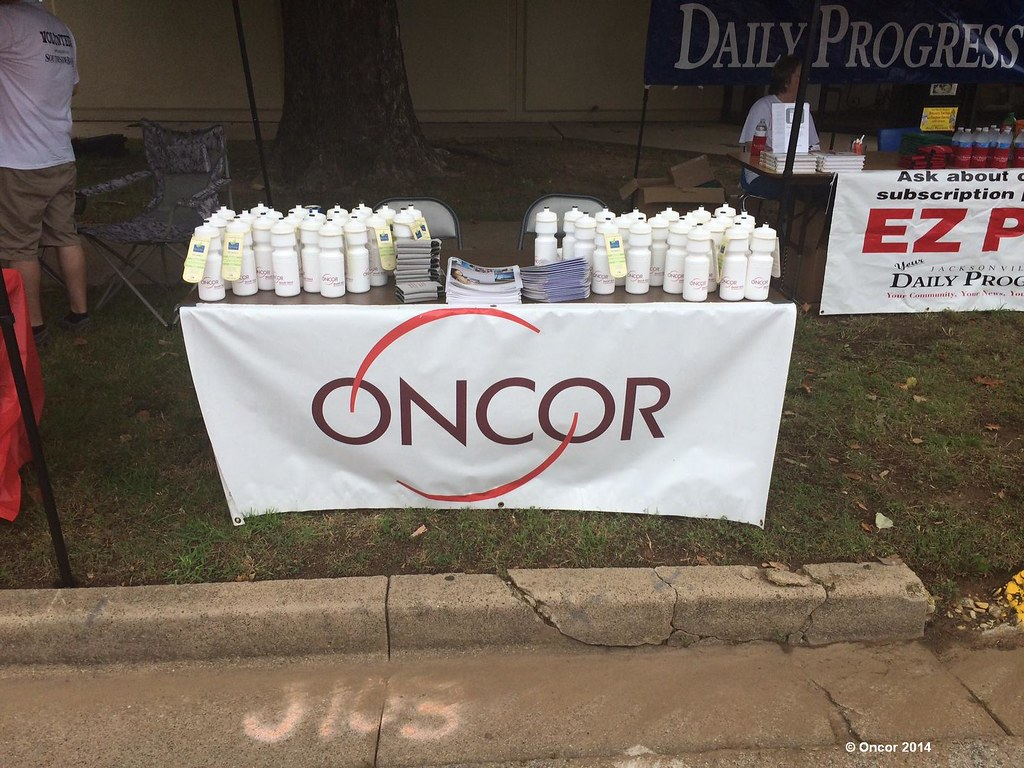 Tomato Fest Oncor table