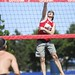 Beach volleyball à la plage celtique de Montréal