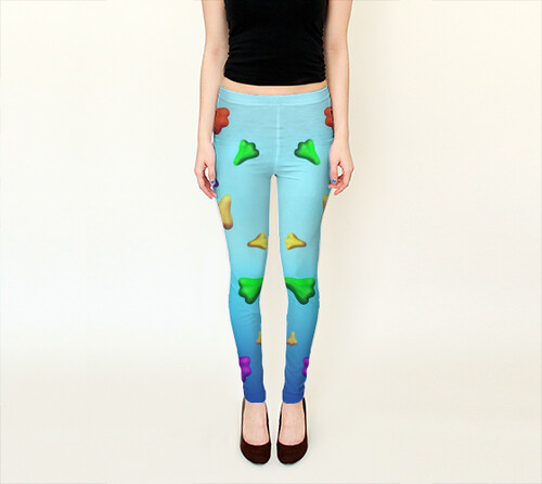 Jet Plane Leggings by Squibble Design 2