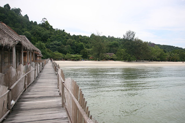 The Telunas original beach resort