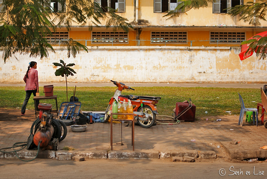 Phnom penh cambodge people photo blog travel
