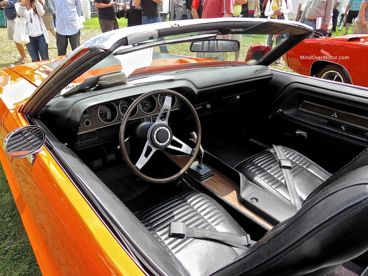 1970 Dodge Challenger R:T Convertible Interior