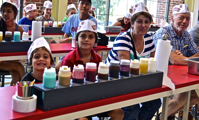 how to make ice cream - Turkey Hill Ice Cream Experience