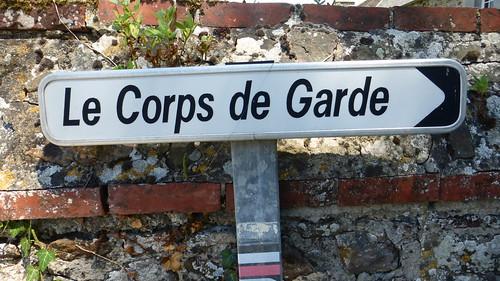 164a Le corps de garde de Saint-Germain-sur-Ay (Chapelle du Grapillon)