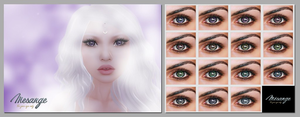 MESANGE - Memories Eyes for TWE12VE - SecondLifeHub.com