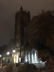 Foundry United Methodist Church at night, 16th Street NW, Washington, D.C.