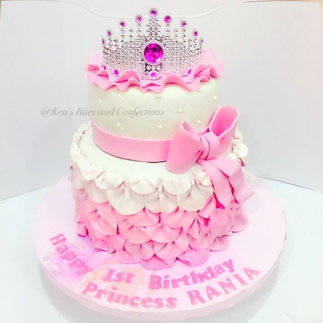 Princess Birthday Cake by Ken's Bites and Confections