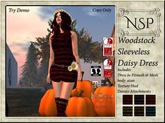 NSP Woodstock Daisy Tank Dress - V4