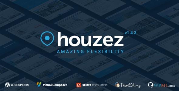 Houzez v1.4.3 - Real Estate WordPress Theme