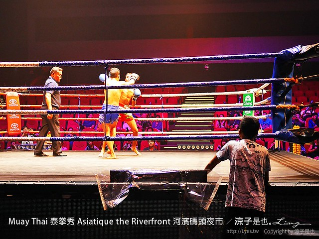 Muay Thai 泰拳秀 Asiatique the Riverfront 河濱碼頭夜市 22