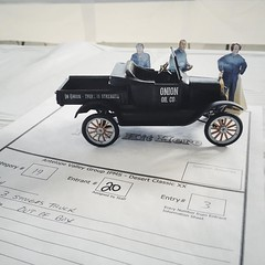 Three Stooges truck #ipmsavg #desertclassicmodelshow