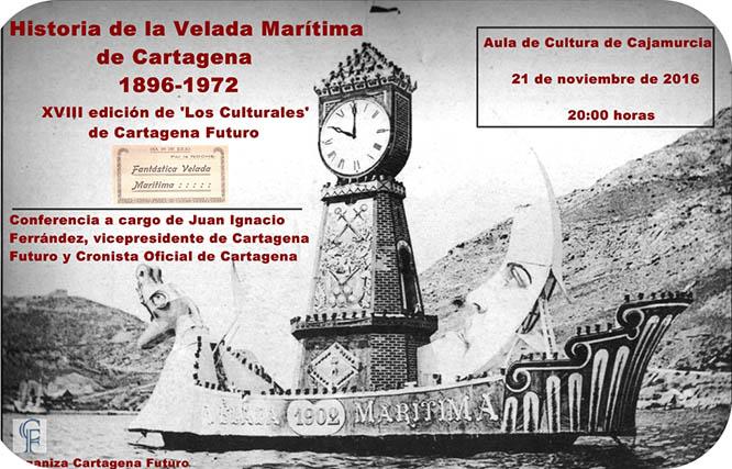 Juan Ignacio Ferrández repasará la historia de la Velada Marítima