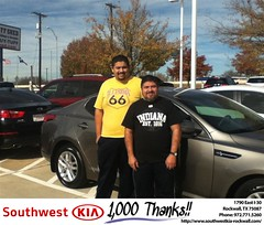 #HappyBirthday to Juan from Gary Guyette at Southwest KIA Rockwall!