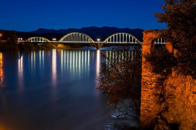 Móra d'Ebre nocturna, Sony SLT-A58, Sony DT 16-50mm F2.8 SSM (SAL1650)