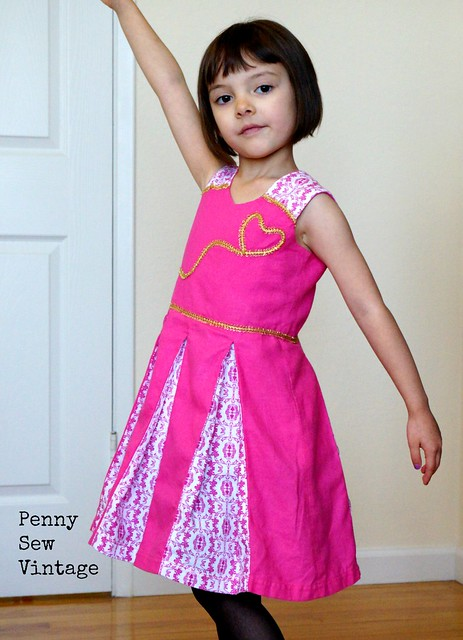 Raglan Party Dress with Underskirt