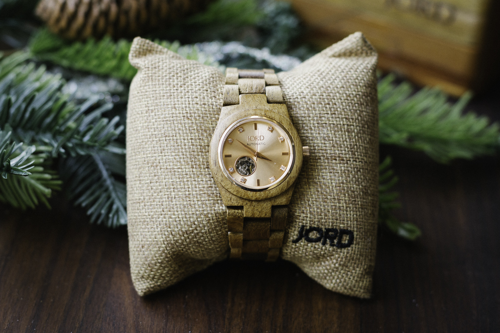 JORD wood watch #sponsored