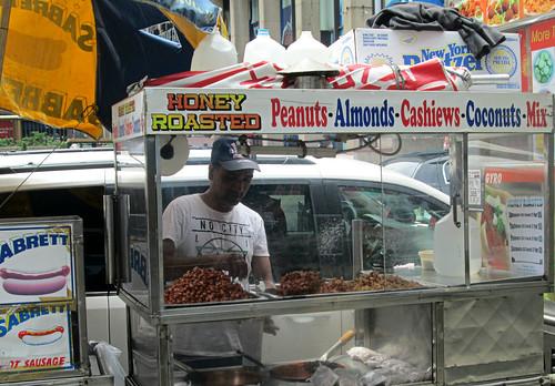honey roasted peanuts