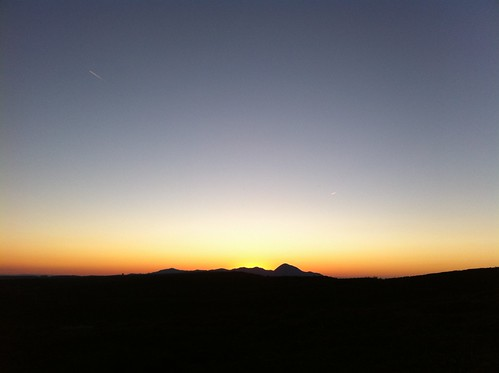 sunset orange black mountains silhouette yellow contrast dusk vibrant horizon clear gradient iphoneography