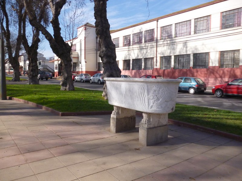 Bathtub on the Avenue of Sculptures