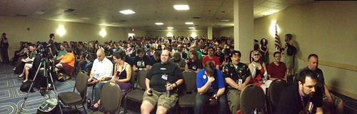 Good gravy, there are a lot of you at PowerPoint Karaoke! #cvg2013
