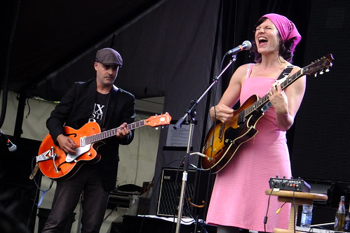 Lily Frost at Ottawa Bluesfest 2013