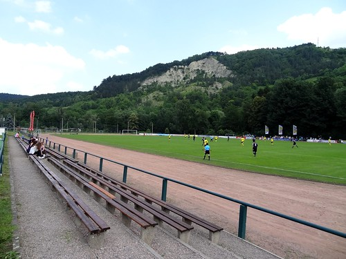 DSC09191 Sportplatz am Dohlenstein, home of SV 1910 Kahla