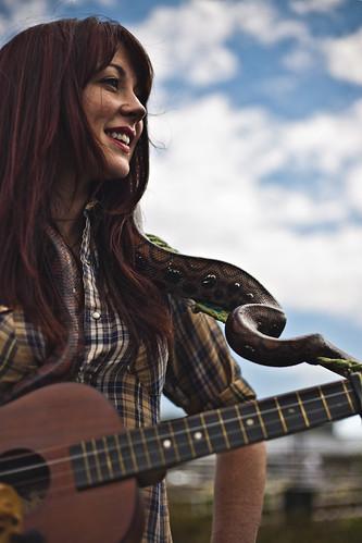 Amanda Shires guitar stand