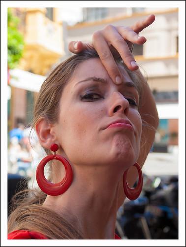 flamenco danseres by hans van egdom