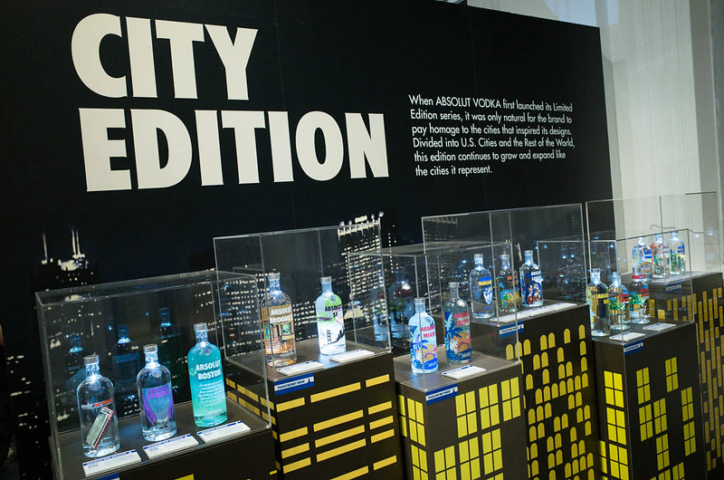 The City Edition section of ABSOLUT CANVAS exhibition