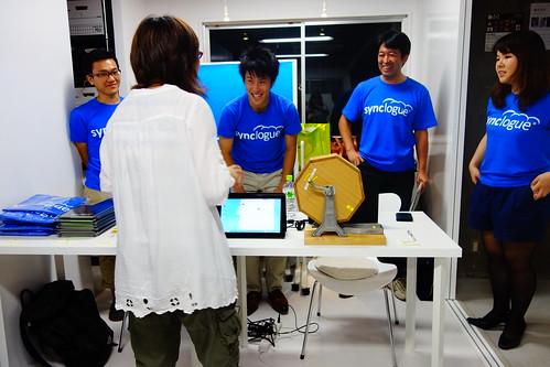 beez銀座プレオープンブロガーイベント