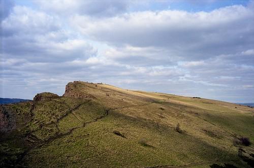 "Image titled ""Salisbury Crag, Edinburgh."""