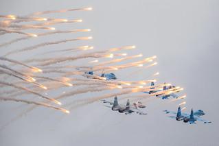 """Su-27 """"Russian Falcons"""""""